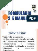 formulario e manuais.ppt