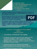 Cuentas y Documentos Por Cobrar.