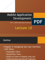 Android Dev Lecture10