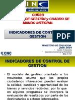 Clase 6 Indicadores Para El Control Curso Control Gestion y CMI MINEDUC