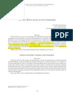 Martin Fiorino Ciencia y Ética