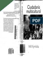 Ciudadania Multicultural Kymlicka