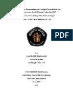 Pengujian Pengendalian dan Pengujian Transaksinya atas Penerimaan secara Kredit, Piutang Usaha, dan CKP