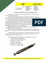 clemtex dispositivo para pintar tubos HDCBX-360-112