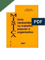 Livro Mística Uma Necessidade No Trabalho Popular e Organizativo
