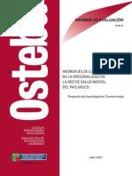 (L)AC - Abordajes de Los Trastornos de La Personalidad en La Red de Salud Mental Del País Vasco (2008)