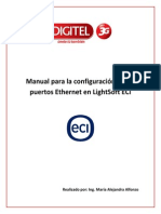 Configuración de Rutas ETH en LightSoft