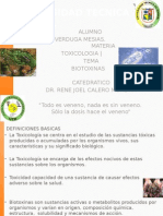 Expo de Toxicologia