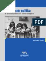 La Recepción Estética de La Literatura Infantil. Un Estudio Etnográfico - Copia