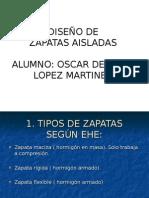 Diseñio de Zapatas Aisladas