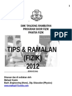 BUKU TIPS SCORE FIZIK 2012.doc