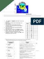 Ujian Selaras 1 Fzk 2014