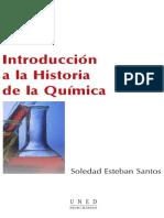 Introducción a La Historia de La Química