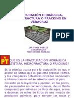 La Hidrofractura en Veracruz