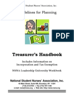 Treasurer Guidelines