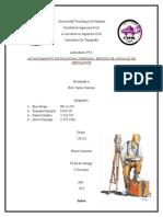 Laboratorio LEVANTAMIENTO DE POLIGONAL CERRADA, MÉTODO DE ÁNGULOS DE DESVIACIÓN