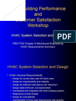 HVAC Design Requirement