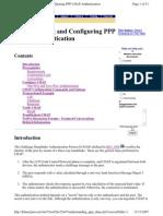 Understanding Ppp Chap Configuration