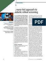 050906A Nurse Led Approach to Diabetic Retinal Screening 2