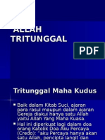 4. Allah Tritunggal