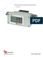 Ultrasonic Portable Flow Meter