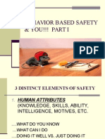 Behavior Based Safety i