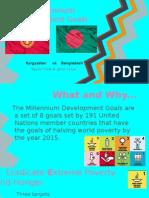 8 millennium development goals