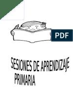 Sesión de Aprendizaje Primaria