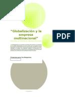 Globalización y La Empresa Multinacional FINANZAS