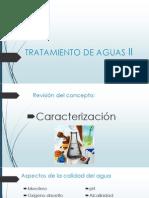 Tratamiento de Aguas II
