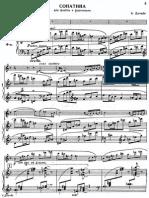 Dutilleux - Sonatina Per Flauto E Pianoforte