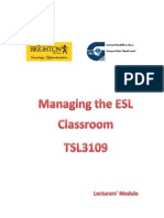 TSL MangingPrimary ESL