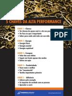 5 Chaves Para Alta Performance