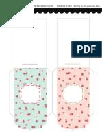 Printable Cny Shabbychic Packets