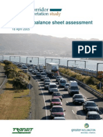 Planning Balance Sheet Assessment