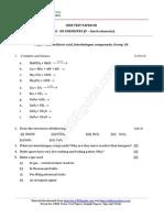 12 Chemistry p Block Elements Test 08
