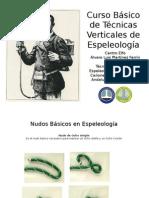Curso Básico de Técnicas Verticales de Espeleología