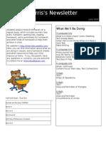 june newsletter template 45605292015