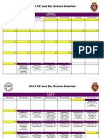 UPLaw Bar Review Sched 2015 FINAL