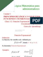 1.7 Funciones Logaritmica Exponencial
