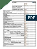 Design Check List Viii-1 Rev0