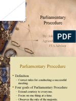 Parliamentary Procedure 2