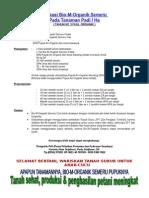 Apliksai Bio-M-Organik Semeru Tanaman Padi (TAHUN KE 3 FULL ORGANIK)