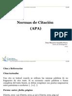 NORMAS DE CITACIÓN APA 2014