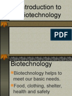 (New)Introduction to Biotechnology