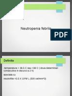 Neutropenia Febrila