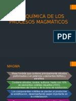 Geoquímica de Los Procesos Magmáticos