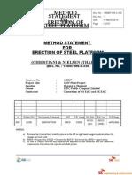 Zee-method Statement for Construction Steel Platform Erection