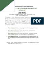 Pengolahan Air Limbah Secara Biologi Anaerob