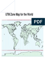 World UTM Map